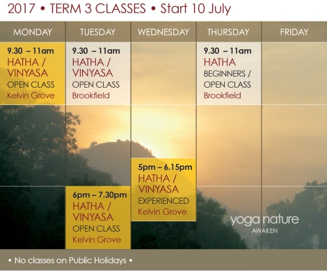 YN_2017 Timetable T3_Yoga Nature Classes Final rev
