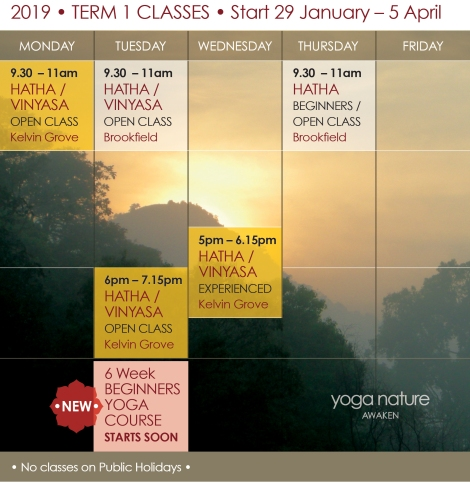 YN_2019 Timetable T1_Yoga Nature Classes Final F